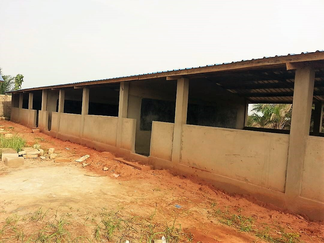 Schulgebäude in Togo